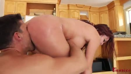 Blond girl gets fucked and black girl helps out.