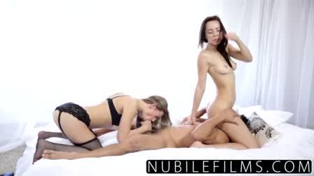 CFNMTeens - Busty Schoolgirl Fucks Her Private Tutor