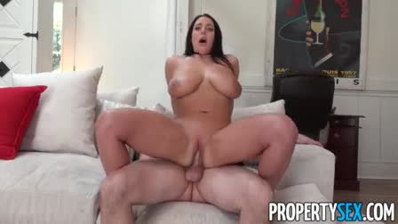 Dark haired beauty getting fucked in the hotel room