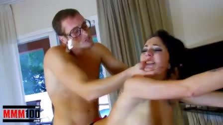 Harden wife Romi Rain's big nipples w ice! - Naughty America