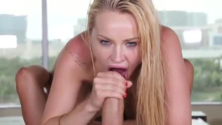Lesbea Blonde angel licks eats and devours girls tight pussy