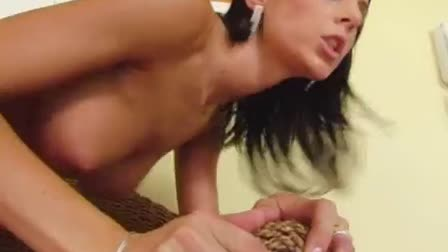 Perfect anal fucking for a threesome loving biker seductress
