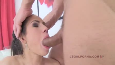 PornPros Petite girl's pussy eaten out and fucked hard