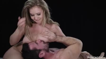 Riley Jenner deeptroat and anal fuck
