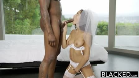 Sexy Blonde Girl Rides Cock Cowgirl
